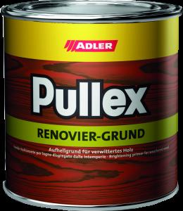 Adler Pullex Renovier Grund - polokrycí renovačný základný náter na zvetralý drevodom či okná