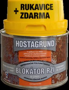 BLOKÁTOR HRDZE HOSTAGRUND U2161 + RUKAVICE