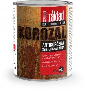 Korozal - základná antikorózna farba