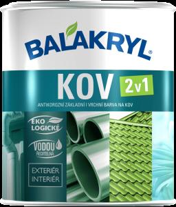 Balakryl - farba na kov 2v1