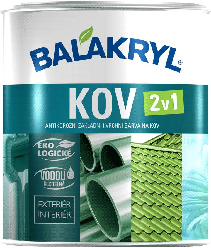 Balakryl - farba na kov 2v1 1 l miešanie