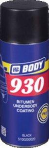 Sprej Hmota Body 930 na spodky áut neprelakovateľná