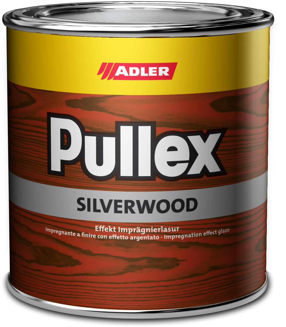 Adler Pullex Silverwood - efektná lazúra do exteriéru vytvárajúca vzhľad starého dreva