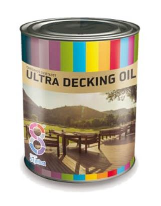 Ultra Decking Oil - olej na drevené terasy 0,75 l bezfarebný
