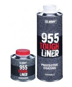 Hmota Body 955 Tough Liner - čierny odolný náter