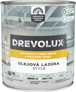 DREVOLUX STYLE - Olejová lazúra na drevo s voskom