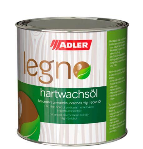 Adler Legno-Hartwachsöl - tvrdý voskový olej na drevo do interiéru 750 ml farblos - bezfarebný