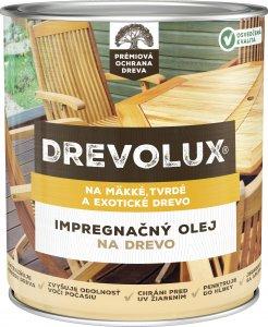 DREVOLUX OLEJ NA DREVO - impregnačný olej na mäkké, tvrdé aj exotické drevo