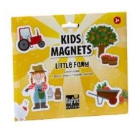 Magnety v sade - detská farma