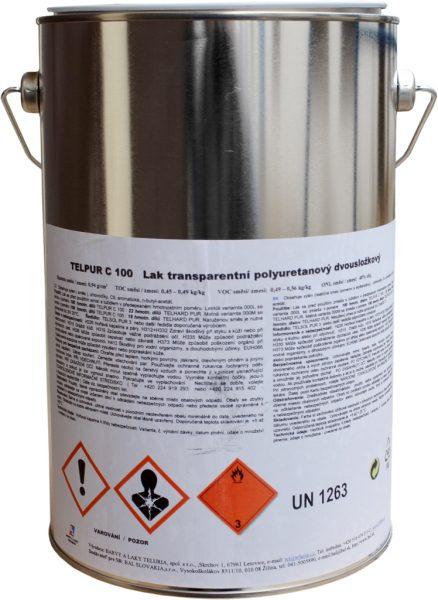 TELPUR C100 - polyuretánový dvojzložkový lak lesklý 2,2 kg