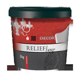 DECOR Relief base - dekoratívna vyrovnávacia hmota
