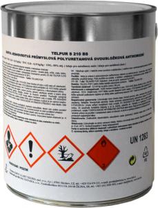 TELPUR S210BS - 2v1 matná polyuretánová kováčska farba