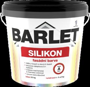 V 4018 BARLET fasádna silikónová farba