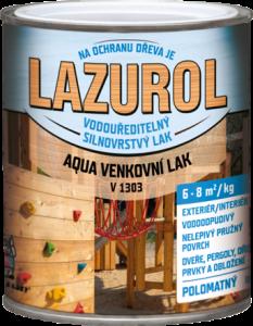 LAZUROL AQUA V1303 - vonkajší lak