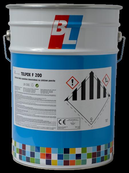 TELPOX F200 - epoxidová dvojzložková farba na zaťažované povrchy miešanie 11,4 kg