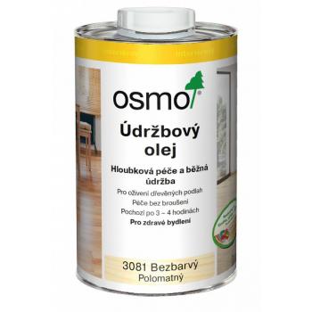 OSMO Údržbový olej 1 l 3079 - bezfarebný mat