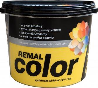REMAL COLOR - tónovaný maliarsky náter s jemnou vôňou