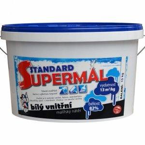 SUPERMAL ŠTANDARD - biely vnútorný maliarsky náter