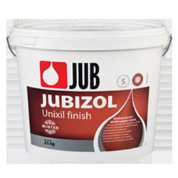 JUBIZOL Unixil finish winter S - siloxanová dekotarívna hladená omietka