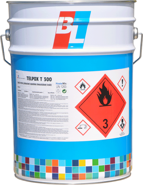 TELPOX T300 - lesklá epoxidová dvojzložková farba