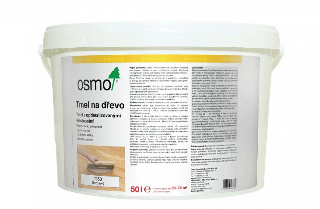 OSMO Tmel na škáry 5 l 7350 - bezfarebný