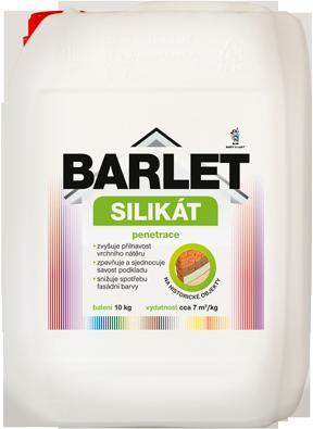 BARLET - penetračný silikátový náter
