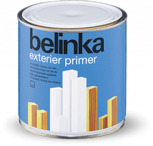 BELINKA Exterier Primer - základná farba na drevo