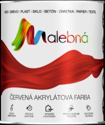 MALEBNÁ - Vrchná pololesklá akrylátová farba