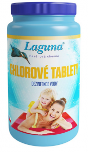 Laguna chlórové tablety