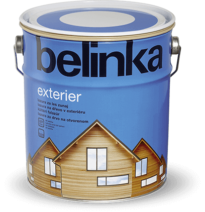 BELINKA Exteriér - lazúra na ochranu dreva 0,75 l 61 - priesvitná