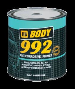 Body 992 - základná farba