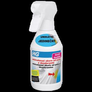 HG Odstraňovač škvŕn od potu a deodorantov