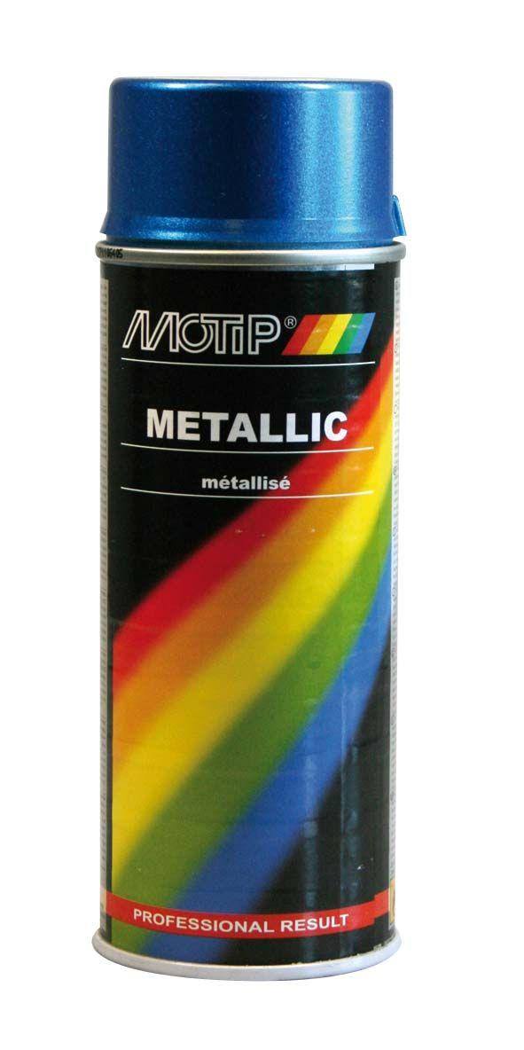 MOTIP AUTO - Metalízový sprej zelený 400 ml