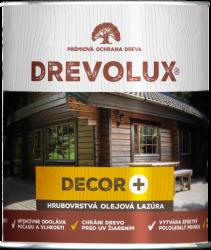 Drevolux Decor + tixotropná hrubovrstvá lazúra