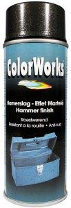 COLORWORKS - kladivková farba v spreji