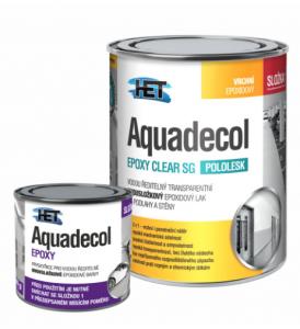 AQUADECOL EPOXY CLEAR SG - Epoxidový lak na steny