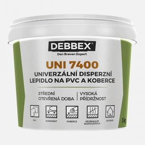 UNI 7400 - Disperzné lepidlo na PVC a koberce