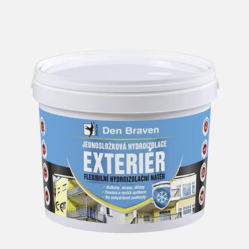 Jednozložková hydroizolácia EXTERIÉR 2,5 kg modrá