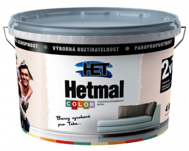 HETMAL COLOR - Tónovaná farba v jemných odtieňoch