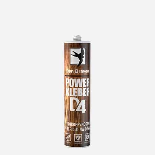 Power Kleber D4 - Vysokopevnostné PU lepidlo na drevo krémová 23 ml