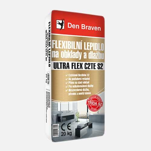 Flexibilné lepidlo na obklady a dlažbu ULTRA FLEX C2TE S2 šedá 20 kg
