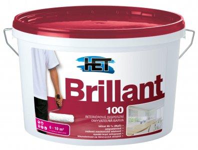 Brillant 100 - Umývateľná farba na steny