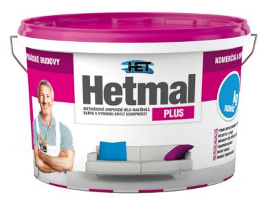 HETMAL PLUS - Vysoko krycia interiérová farba