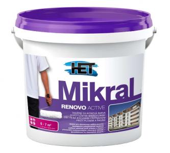 MIKRAL RENOVO ACTIVE - Fasádna farba proti plesniam a riasam