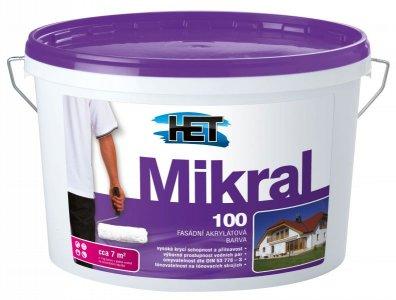 MIKRAL 100 - Fasádna hladká akrylátová farba