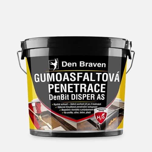 DENBIT DISPER AS Gumoasfaltová penetrácia cierna 5 kg
