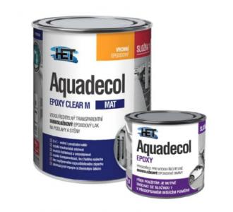 AQUADECOL EPOXY CLEAR M - Epoxidový lak na podlahy a steny
