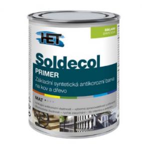 SOLDECOL PRIMER Základná syntetická farba na kov a drevo