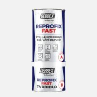 REPROFIX FAST - Dvojzložková epoxidová hmota na rýchle zošívanie betónu