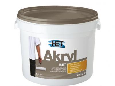 AKRYL BET - Akrylátová farba na betón